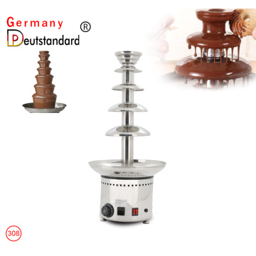 5 Tiers Commercial Chocolate Fountain