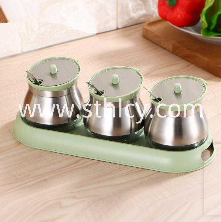 Stainless Steel Seasoning Jar2