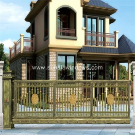 High Security Strong Aluminum Cantilever Gates