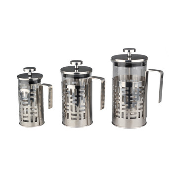 Coffee Maker French Press Stainless Steel Coffee Plunger