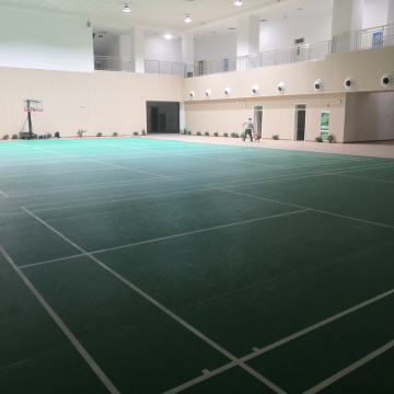 Indoor PVC floor for Badminton court with BWF