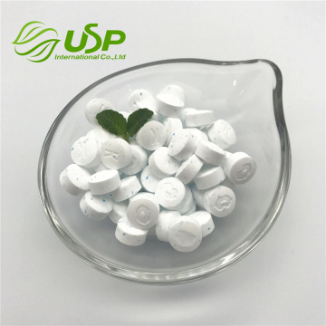Factory price sea-salt flavor stevia tablet mint candy