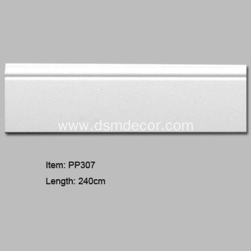 PU Skirting Boards Fir Wandbasis