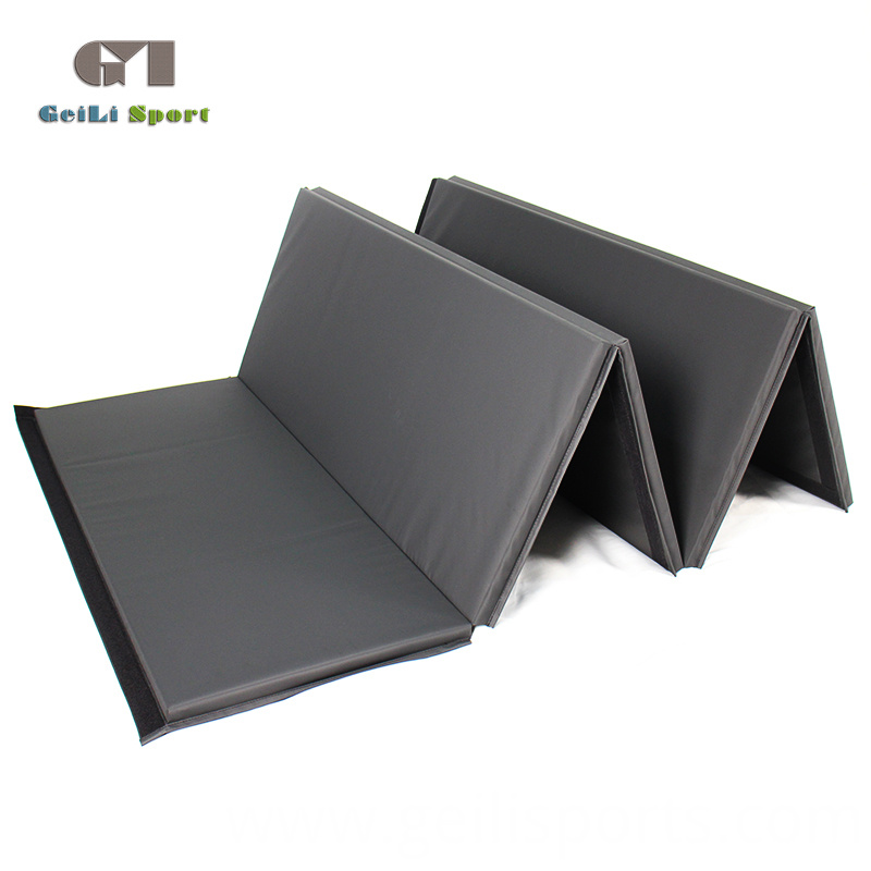 Black Gym Folding Mat