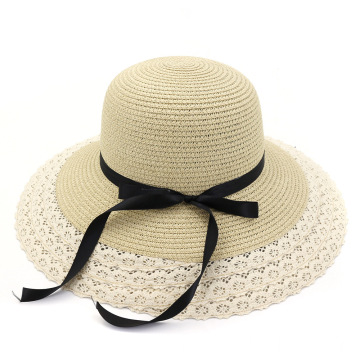 Fedora straw hat large brim articles summer hat