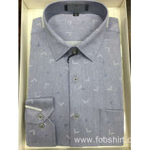 Cotton Yarn Dyed Business Shirt