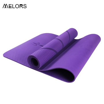 Melors Purple Tpe jógamatta