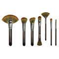 Professional Set fan 7 Brushes