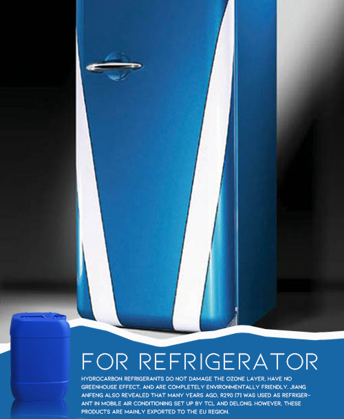 Fluoride Solution for Refrigerator