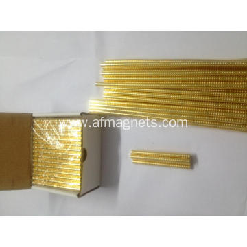 Gold Coated Neodymium Magnets