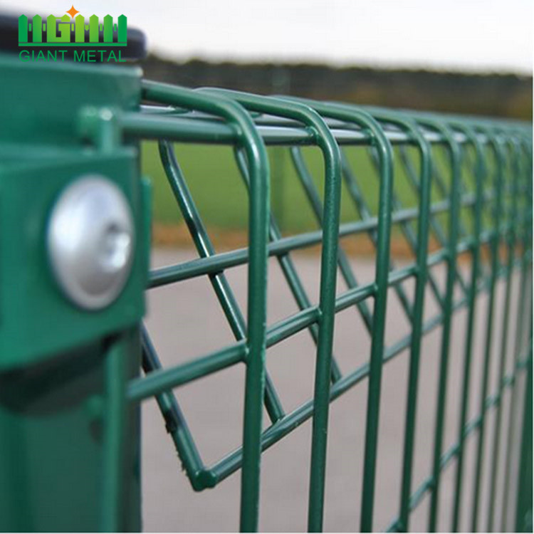 Roll Top Galvanised Fence Panel