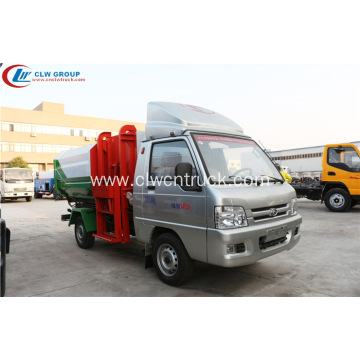 Big sale FOTON small 2m3 bin loader truck