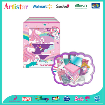 UNICORN box of secrets craft set