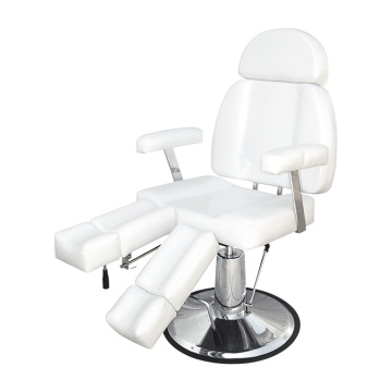 White Salon Chair Styling
