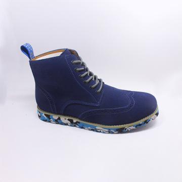 Lace-up Martin Motorcycle Ankle Oxfords Boots For Men