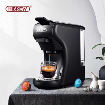 HiBREW 19 bar 3 in 1 & 4 in 1 multiple capsule espresso coffee machine, pod coffee maker Dolce gusto nespresso powder H1