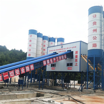 HZS180 high quality modular concrete batching plant