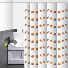 Waterproof Bathroom printed Shower Curtain Quilt Pattern