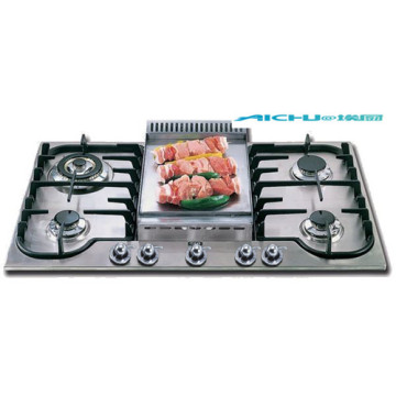 Cheap Gas Stove Brands In India Built-In 5Burners
