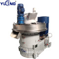 YULONG XGJ560 1.5-2TON/H cottonseed skins pellet press