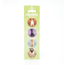 Foldable Magnet Book Mark In Dog Shape ​