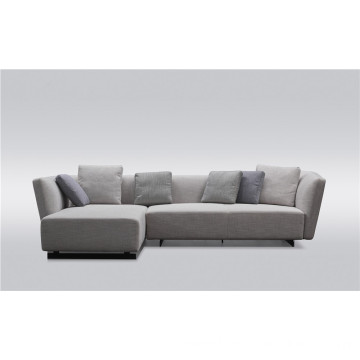 Modern sofa with feather