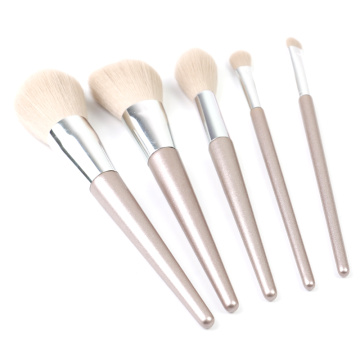 5 set kuas makeup terbaru set rose gold