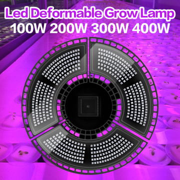 Plant LED Growth Lamp 100W 200W 300W 400W Phyto Light E27 Seedling Fito Lamp LED Full Spectrum E27 Grow Light For Flower Seed