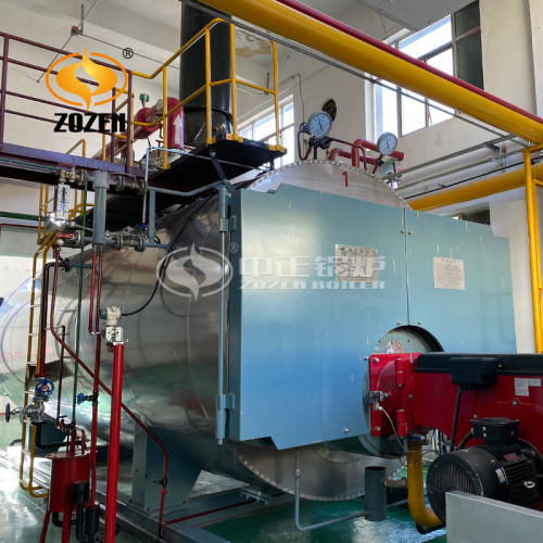 Safety Water Tube Oil Gas Steam Boiler Price