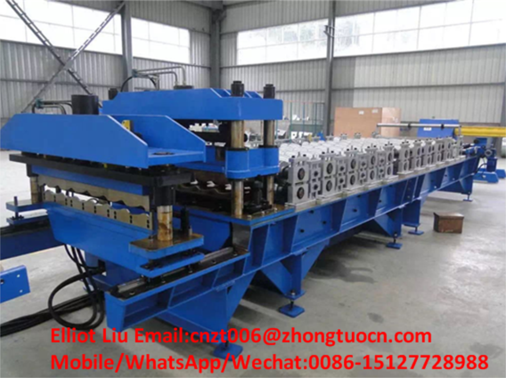 High-end roof tile roll forming machine 4