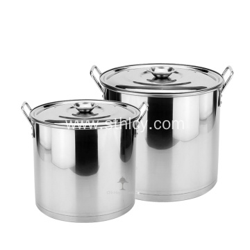High Quality Stainless Steel Soup Pails Large Pot