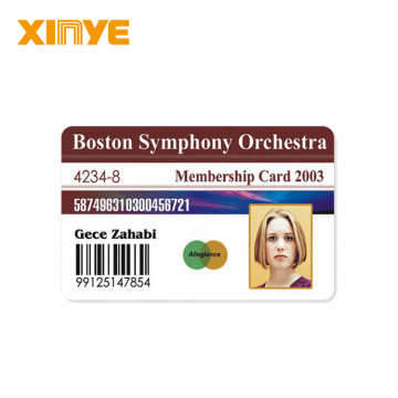 High quality personalized barcode blank Smart ID cards