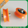 V Groove Dlot Wheels Sliding Glass Window Rollers