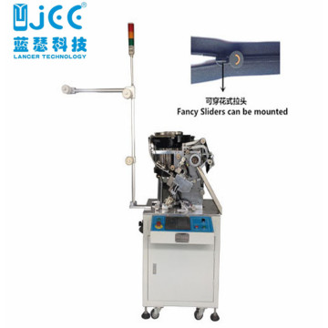Full Automatic Nylon Zipper Slider Mounting Making Machine