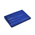 New Slim Crocodile Leather Business Credit Card Holder