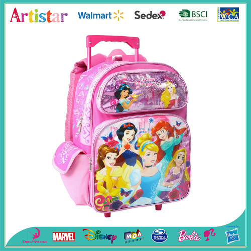 DISNEY PRINCESS trolley bag