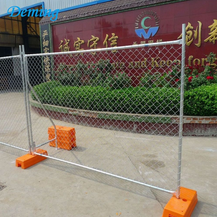 Factory Cheap Hot Dip Galvanized Temporary Fence for Sale