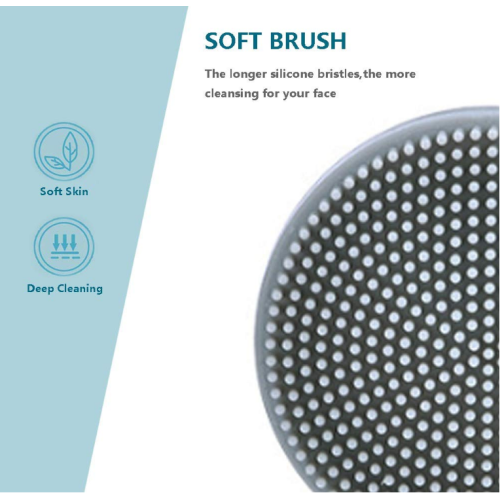 BPA Free Manual Facial Cleansing Silicone Brushes