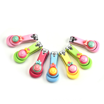 Wholesale sweet lollipop stainless steel nail clippers manicure nail clippers nail clippers gifts