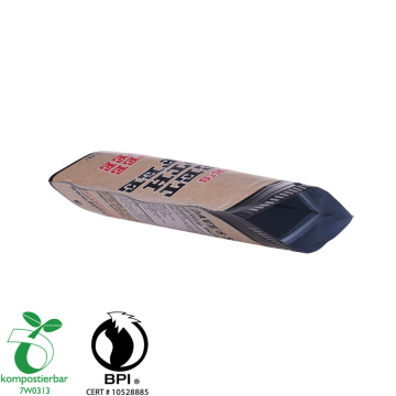 Resealable Ziplock Custom Wholesale Paper Bag for Coffee Beans Packaging