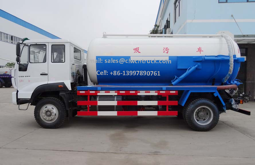 Vaccum Sewage Tanker For Sale