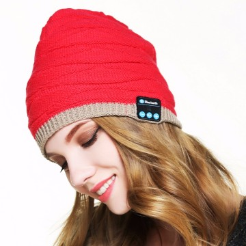 Beanie Sports Hat Wireless Bluetooth Headset Headphone