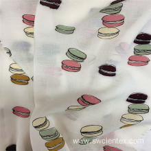 Skin-friendly 100% Rayon Printed Material Children Fabric