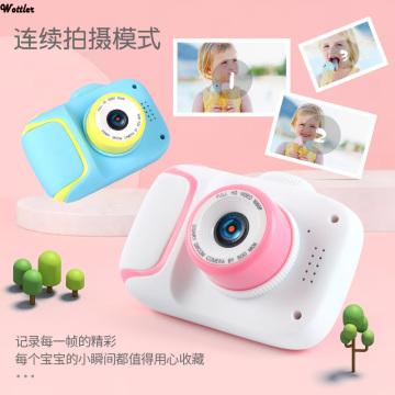 Kids Camera Children Mini Digital Camera Cartoon Camera Toys Outdoor Photography Props for Children Birthday Gift