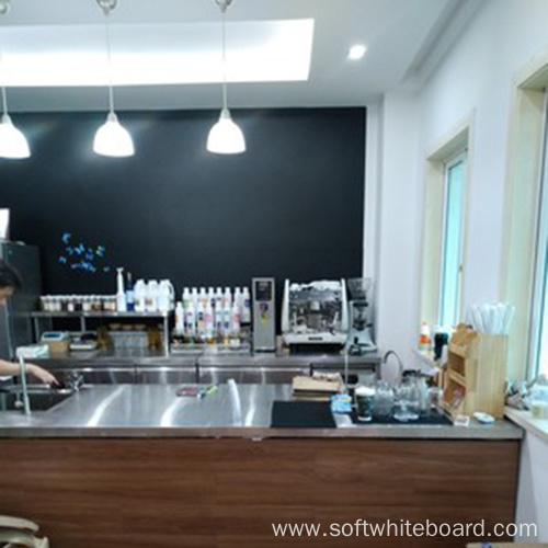 Extra Large Black Decoration Chalkboard For Kitchen