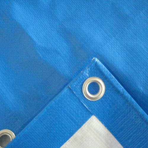 Outdoor waterproof tarp blue tarpaulins