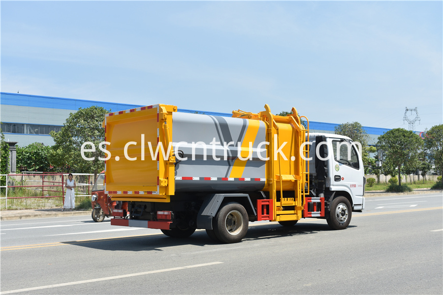 kitchen waste truck for sale