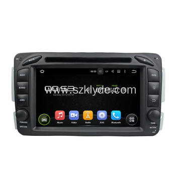 Benz ML android 7.1 car dvd PLAYERS