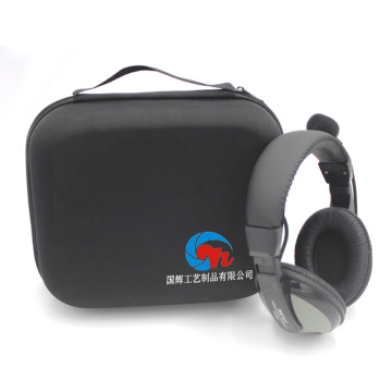 Wholesale Large Capacity EVA Headphone/Headset Case