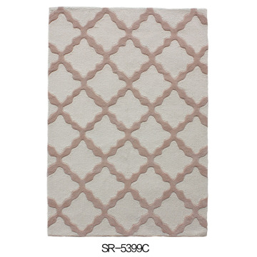 Acrylic Hand-tufted Super Quality Carpet